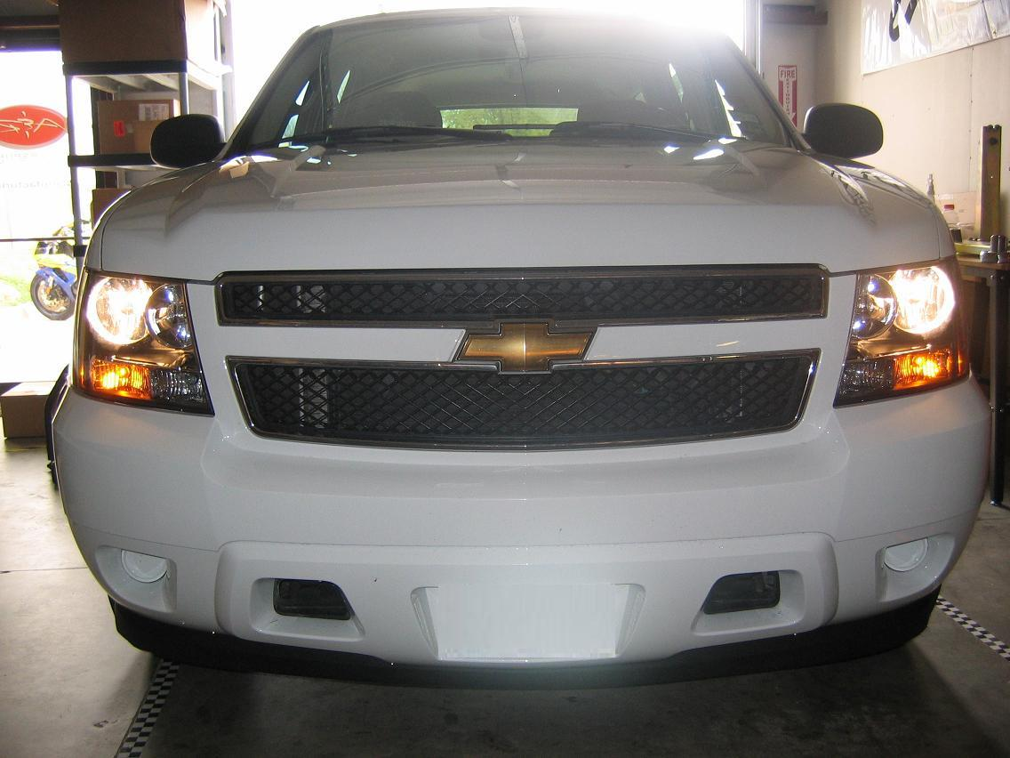 Tahoe Before Hid on Hid Relay Harness Install