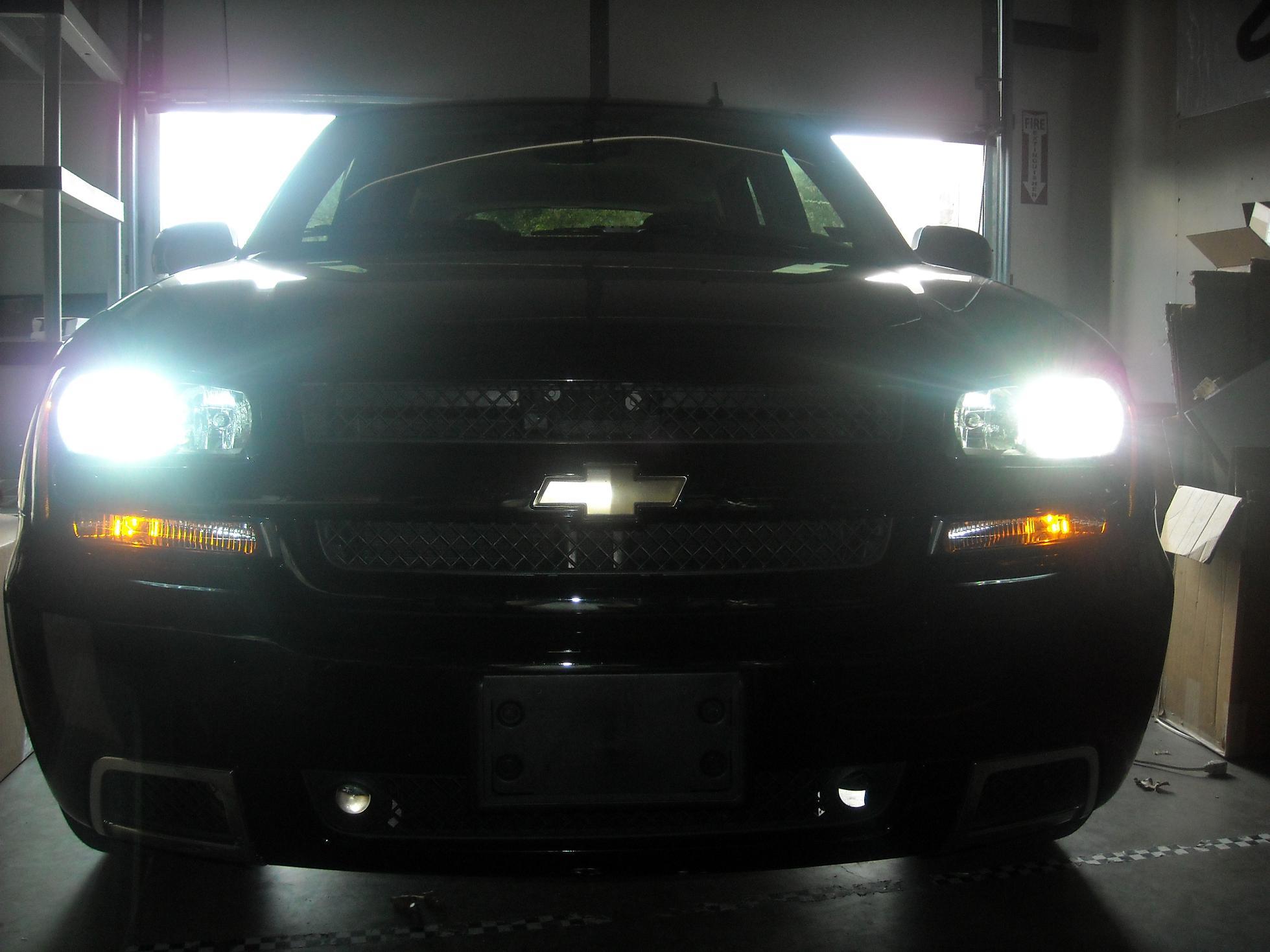 Details About 03 09 Chevrolet Trailblazer Ss Chevy Blazer Custom Hid Kit Ac Digital H I D